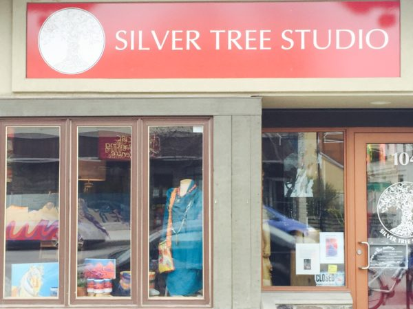 Photo Silver Tree Studio Canmore Outside Store 24 April 2016