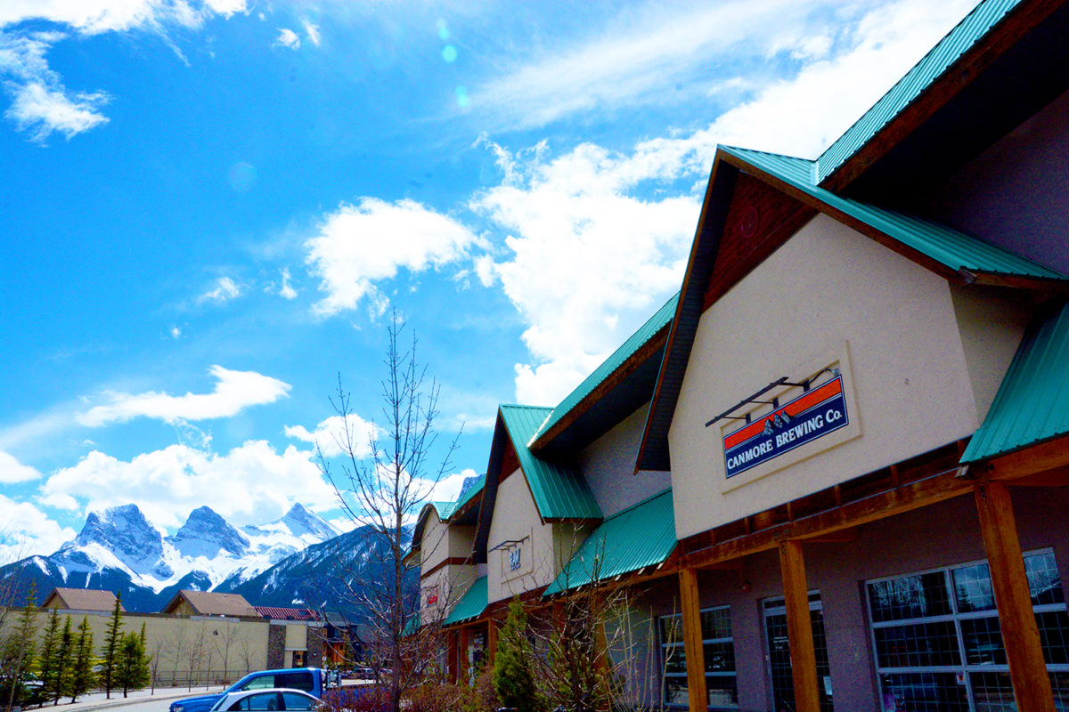 Canmore Brewing 3Sisters