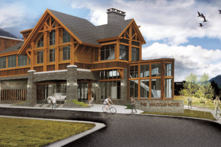 In the heart of the Canadian Rockies Canmore will now be home to the $43 Million, four-star Malcolm Hotel.