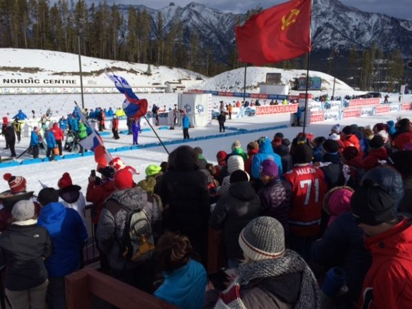 Biathlon Action