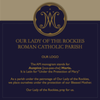 Our Lady of the Rockies Parish logo