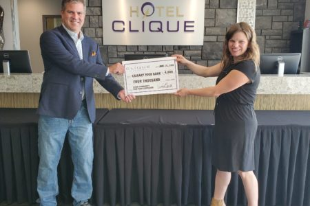 Clique Hotels & Resorts Food Bank Fundraiser