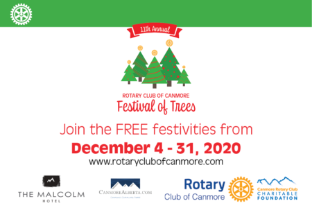 Rotary Club of Canmore presents Festival of Trees 2020