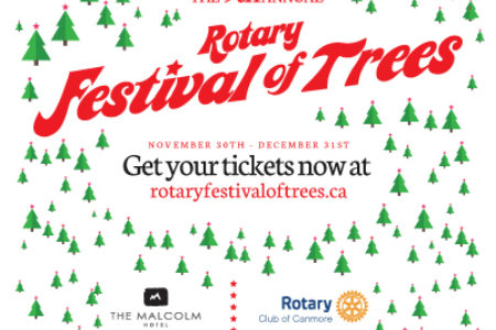 Rotary Club of Canmore presents Festival of Trees 2018
