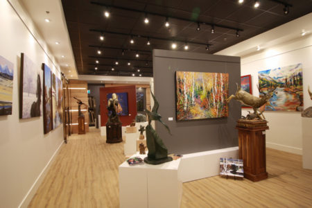 Downtown Canmore: Art Galleries